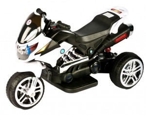 Eragon Battery Operated Bike (White)