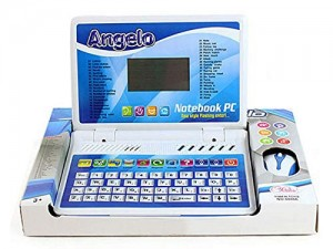 Smart Picks Battery Operated  English Learner Kids Notebook Educational Laptop with Mouse (40 Activities Notebook)