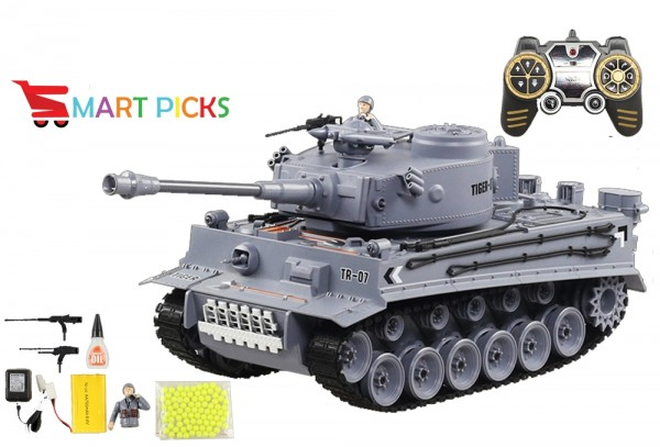 Smart Picks Remote Control Shooting Game Military Battle Tank with